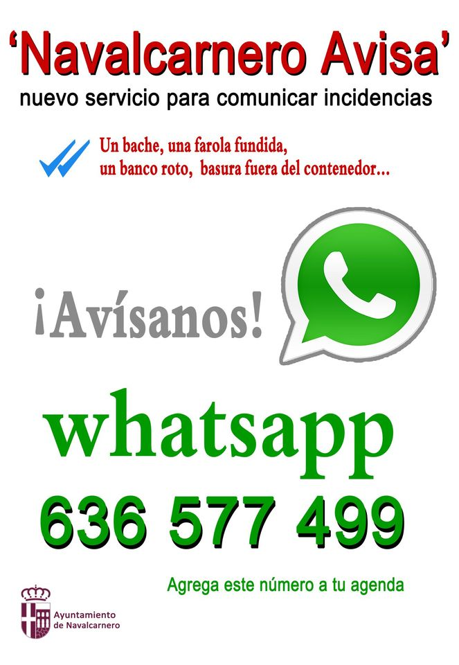 636 577 499 WHATSAPP INCIDENCIAS